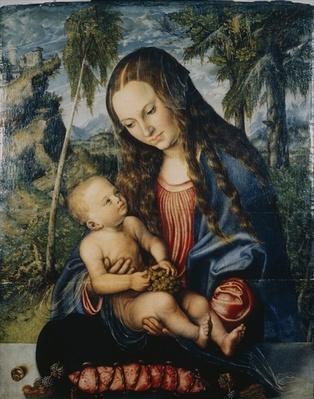 Madonna under the fir tree, c.1510