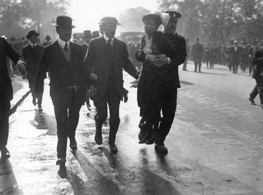 Pankhurst Arrested | Women's Suffrage | U.S. History