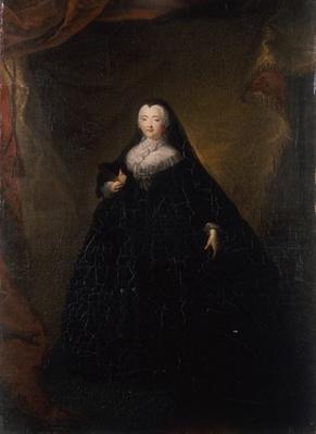 Empress Elizabeth in Black Domino, 1748