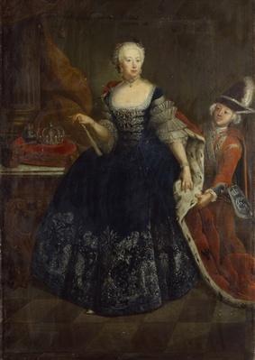 Elisabeth Christine von Braunschweig as Queen