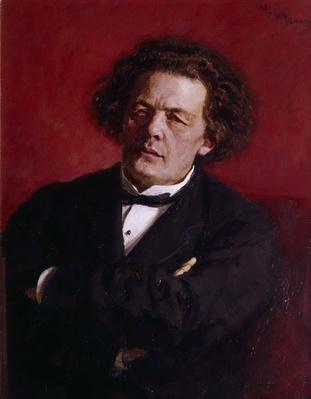Portrait of Anton Grigoryevich Rubinstein, 1881