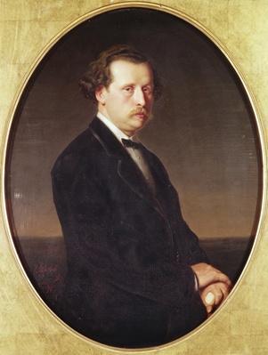 Portrait of N.G. Rubinstein