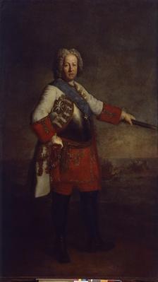 Count Friedrich Heinrich von Seckendorf, 1720