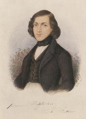 Theodor Fontane, 1843