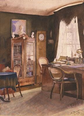 Theodor Fontane's Study