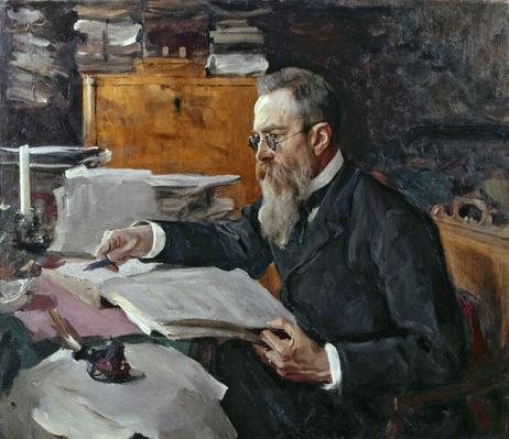 Portrait of Nikolai Andreyevich Rimsky-Korsakov