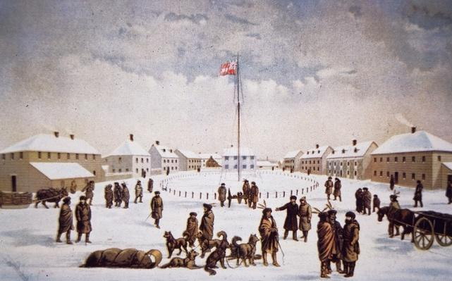 View of Fort Garry