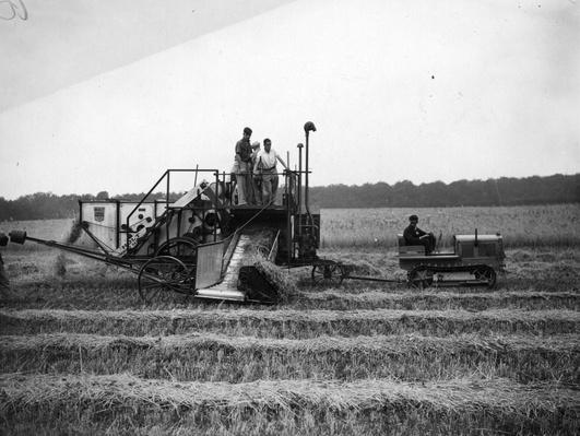 Combine Harvester | Industrial Revolution