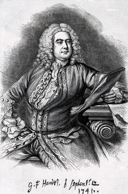 George Frederick Handel, 1749