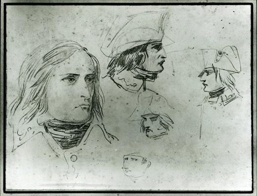 Sketches of Napoleon Bonaparte, 1797