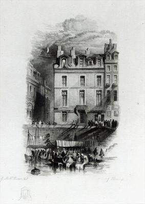 Napoleon's Lodgings on the Quai Conti, 1834-36