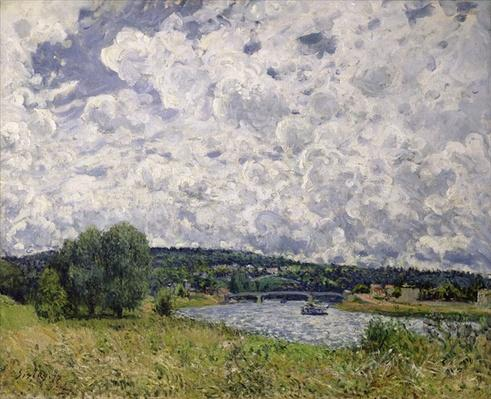 The Seine at Suresnes, 1877