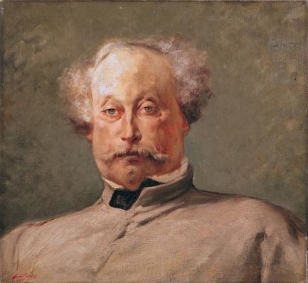 Portrait of Alexandre Dumas fils