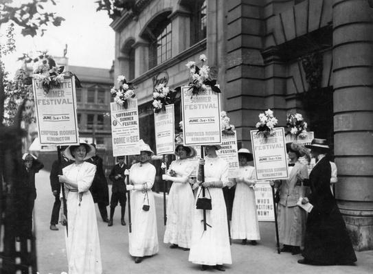 Suffrage Meeting | Women's Suffrage | U.S. History