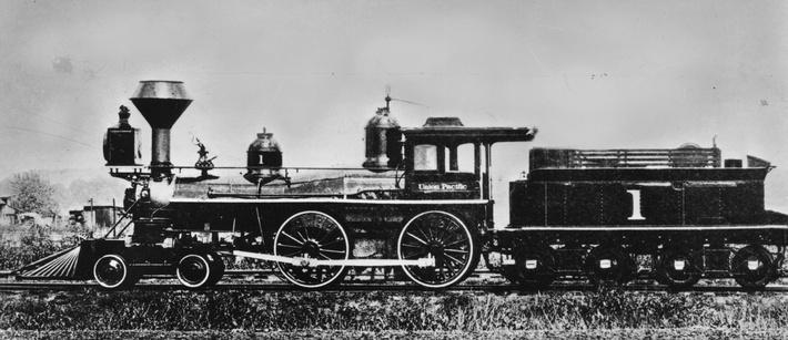 General Sherman | Evolution of the Railroad (Engine)