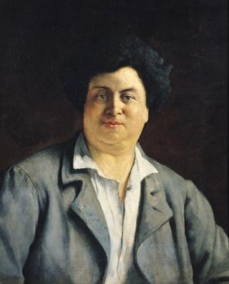 Portrait of Alexandre Dumas pere