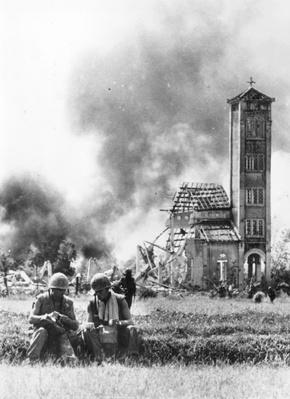 Burning Church | Vietnam War