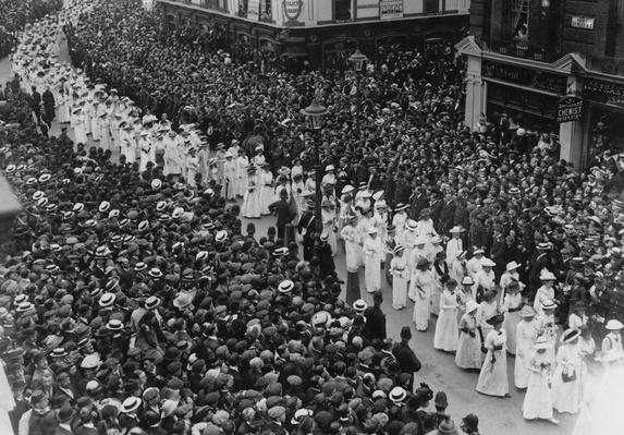 Davison's Funeral | Women's Suffrage | U.S. History