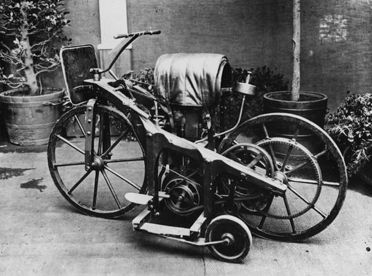 Early Motorcycle | Evolution of the Automobile