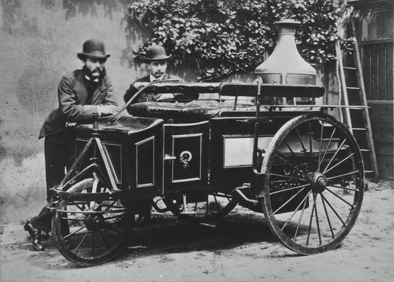 Steam Wagon | Evolution of the Automobile