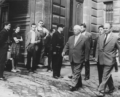 Khrushchev In Paris | The Cold War | The 20th Century Since 1945: Postwar Politics