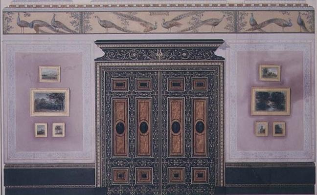 Design for the interior of No.1 Grosvenor Crescent, London