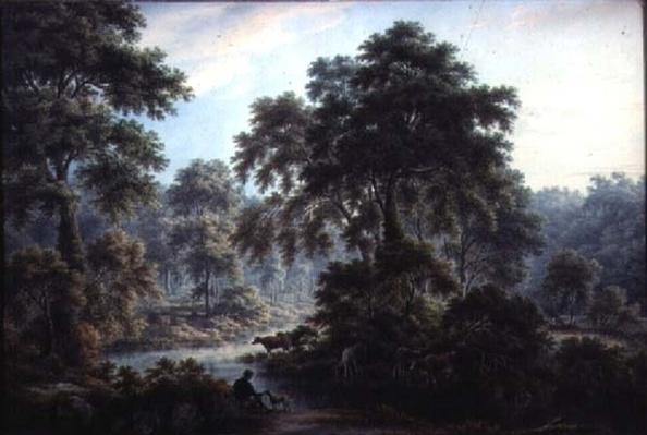Near the Old Bath, Matlock, 19th century