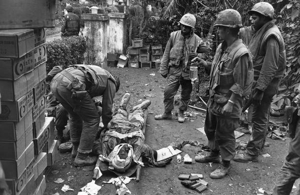 Wounded Soldier | Vietnam War
