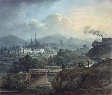 View of Shrewsbury across the Severn
