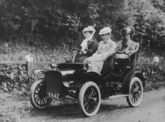 Ladies' Outing | Evolution of the Automobile
