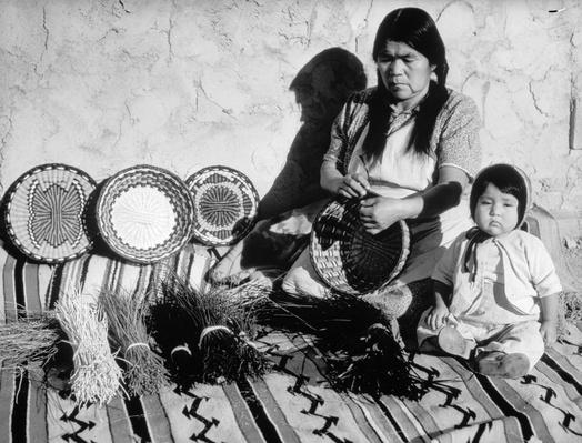 Weaving Grandmother | Native American Civilizations | U.S. History