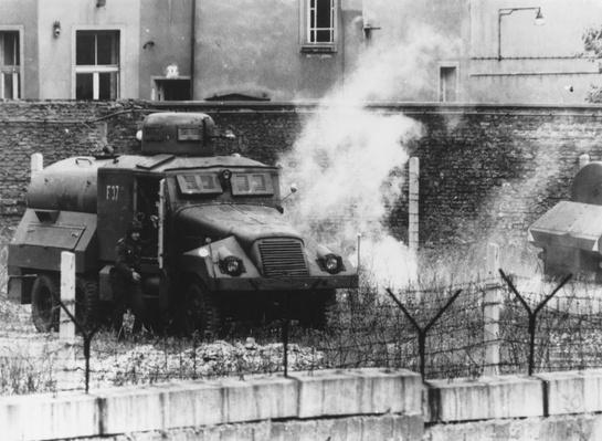 Berlin Riot | Berlin Wall | The 20th Century Since 1945: Postwar Politics