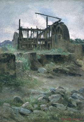 A Cornish Tin Mine, 19th century
