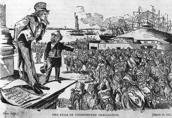 Flooding The Land | U.S. Immigration | 1840's to present | U.S. History