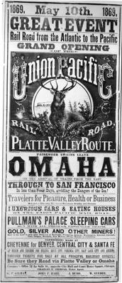 Rail Road Poster | The Wild West is Tamed (1870-1910) | U.S. History