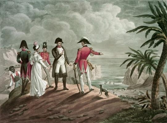 Bonaparte on St. Helena