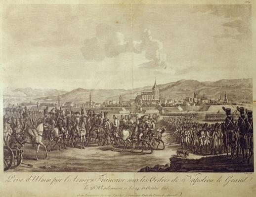 The Capitulation of Ulm in October 1805