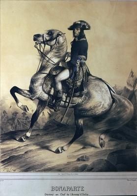 Napoleon Bonaparte as General and Supreme Commander of the Italian army