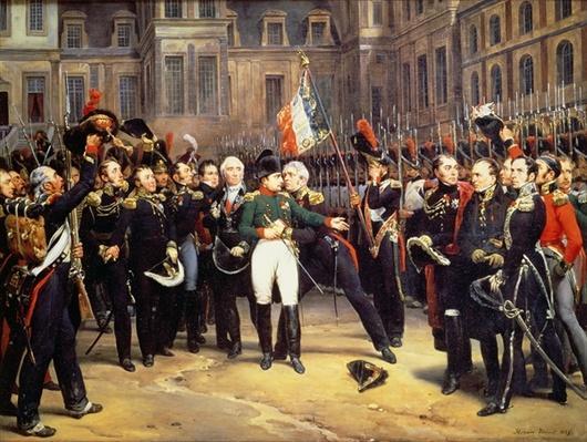 Les Adieux de Fontainebleau, 20th April 1814