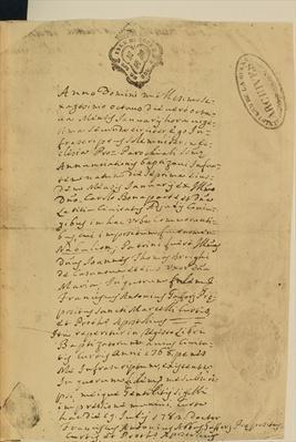 Napoleon's Birth Certificate, 1769