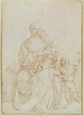 Virgin and Child with infant St John, c.1518