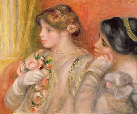 Dans La Loge, c.1908