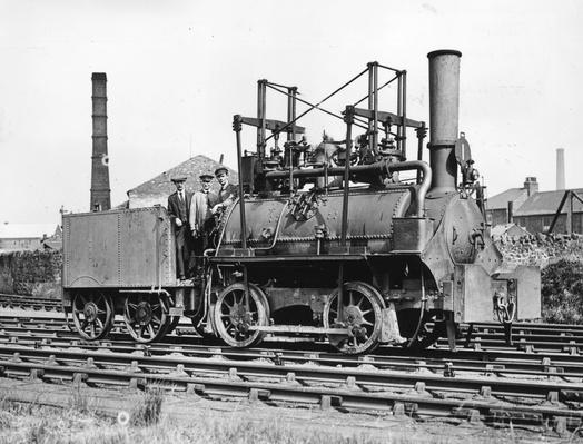 Stephenson's First | Evolution of the Railroad (Engine)