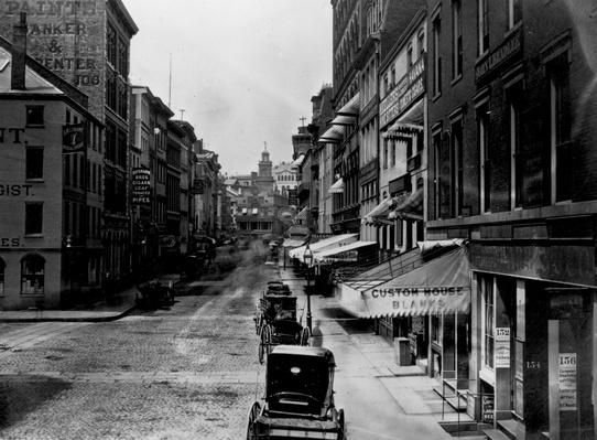 Broad Street   The Gilded Age (1870-1910)   U.S. History