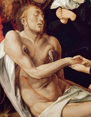 Detail of Lamentation for Christ, 1500-03
