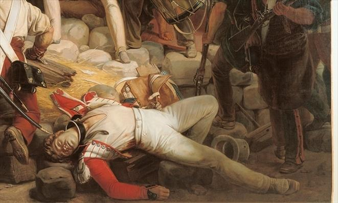 Fighting at the Hotel de Ville, 28th July 1830, 1833