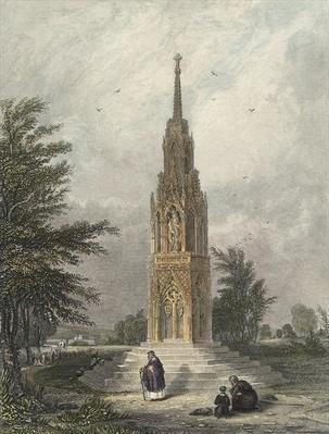 Waltham Cross, c.1820