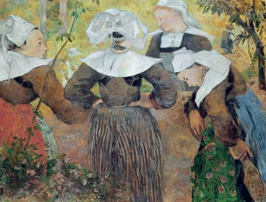 Four Breton Women, 1886