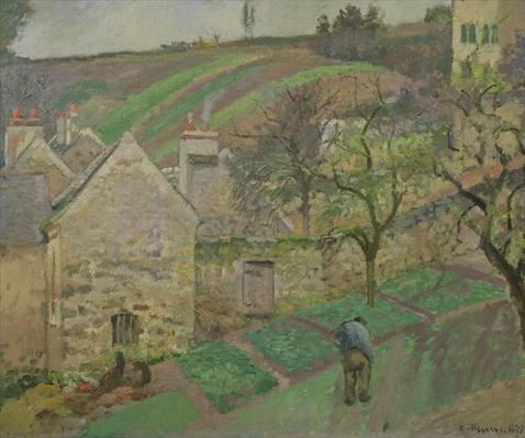 Hillside of the Hermitage, Pontoise, 1873