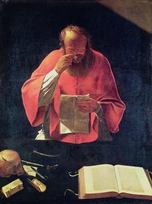 St.Jerome reading
